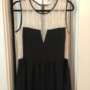 Little Black (lace back) Dress
